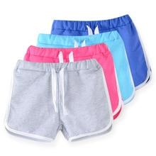 kids clothing 2017 new candy color girls short hot summer boys beach pants shorts 0902