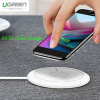 Ugreen Qi Wireless Charger For Samsung Galaxy S8 Plus Note 8 5 S7 S6 Edge 5V