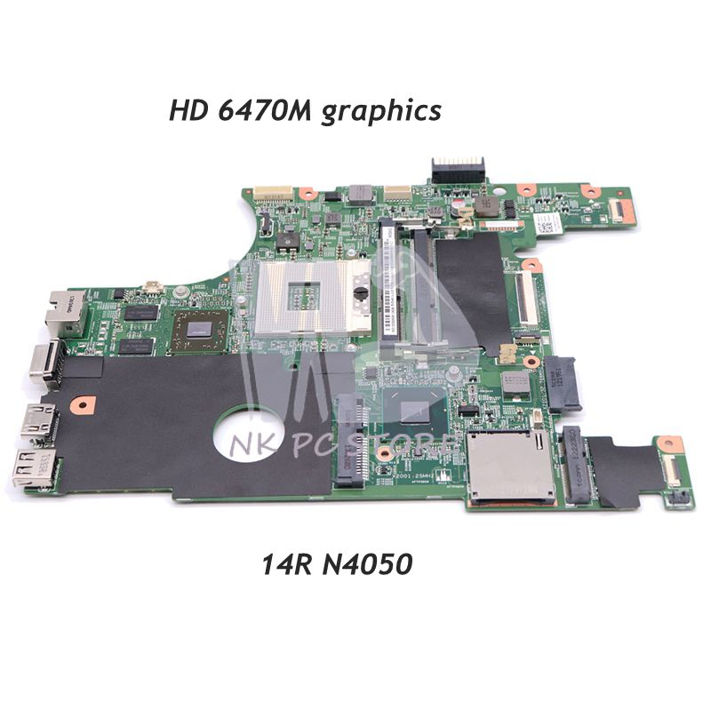 NOKOTION CN-07NMC8 07NMC8 7NMC8 For Dell Inspiron 14R N4050 Laptop Motherboard HM67 DDR3 HD 6470M Discrete GraphicsNOKOTION CN-07NMC8 07NMC8 7NMC8 For Dell Inspiron 14R N4050 Laptop Motherboard HM67 DDR3 HD 6470M Discrete Graphics