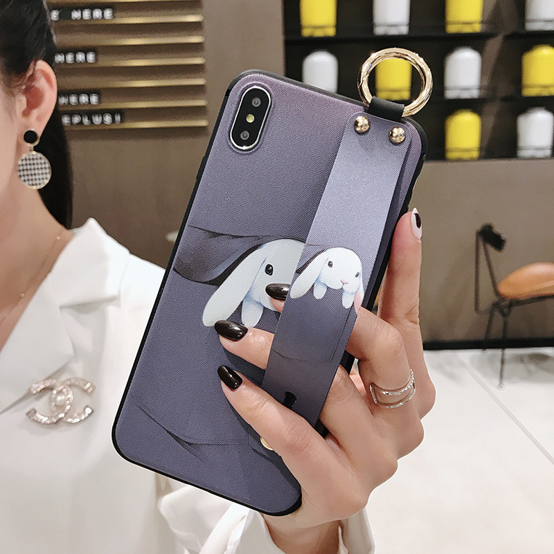 Girls Fashion Case with Wrist Strap for iPhone 11/11 Pro/11 Pro Max 28