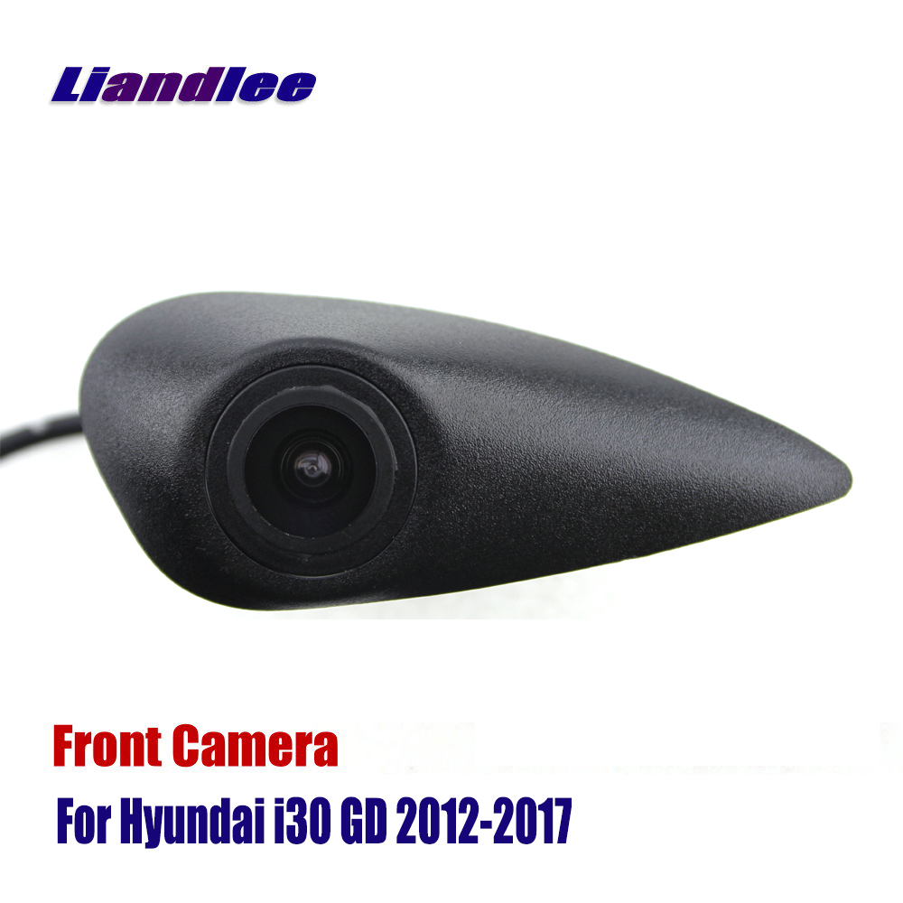 Liandlee AUTO CAM Car Front View Logo Embedded Camera For Hyundai I30 GD 2012-2017 2015 2016 ( Not Reverse Rear Parking Camera )