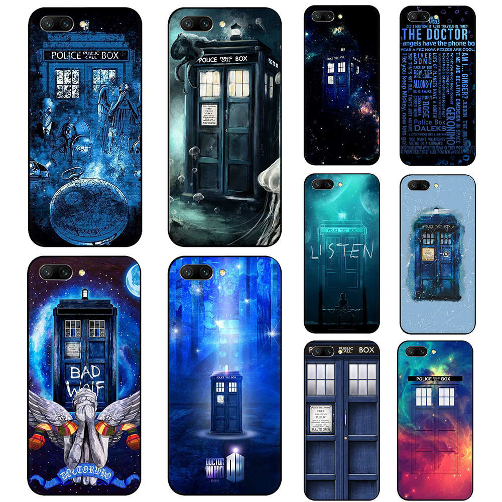Cellphones & Telecommunications Phone Bags & Cases Tardis Box Doctor Who Soft Silicone Phone Case For Huawei Y6 Prime 2017 2018 Honor 6a 7a 7c 7x 8 8x 9 10 Lite Lovely Luster