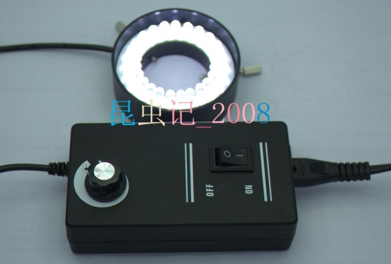 40mm Inner Dia White Light 48 pcs LED Lights Stereo Microscope Ring Lamps Light for Industrial  Camera Video Light Source