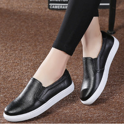 2018 Women Ballet Flats Elastic Band Autumn Loafers Female Platform Casual Shoes Vulcanized Ladies Comfort Fashion Footwear