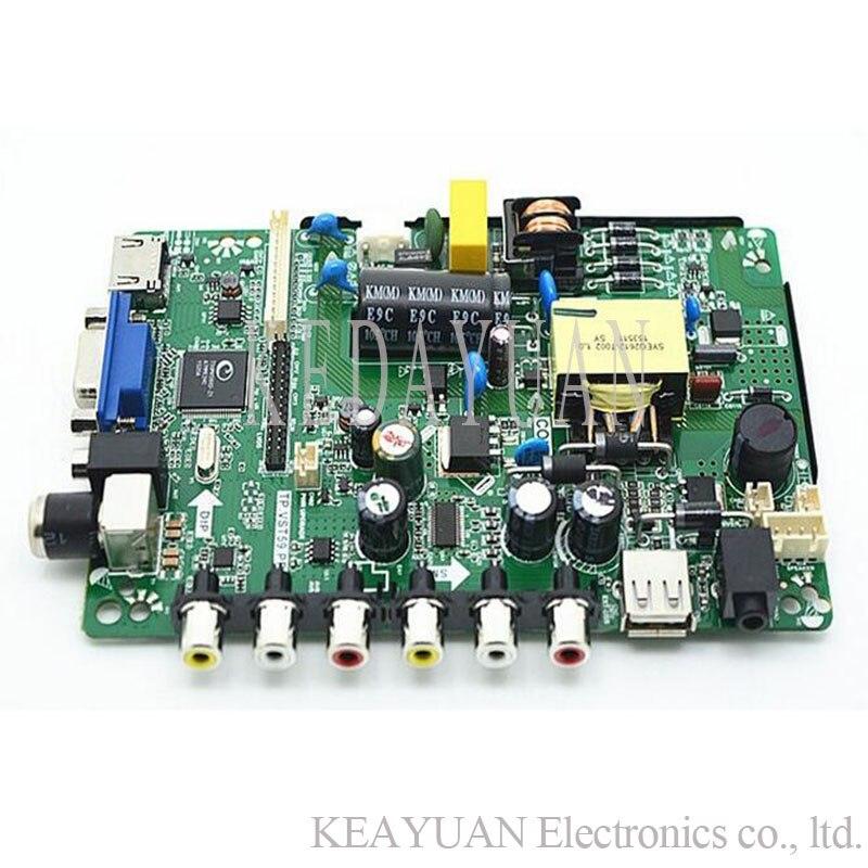 Free Shipping Original 100% Test For Tp.vst59.pb818/PB819/pb716/pb813/PC1 LCD TV Universal Motherboard