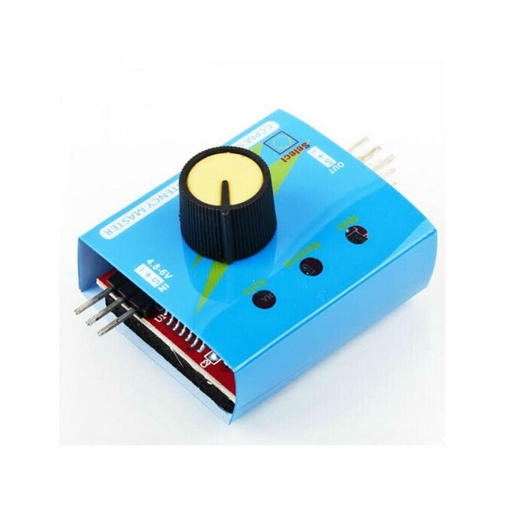 1pcs Multi Servo Tester 3CH ECS Consistency Speed Controler Power Channels CCPM Meter