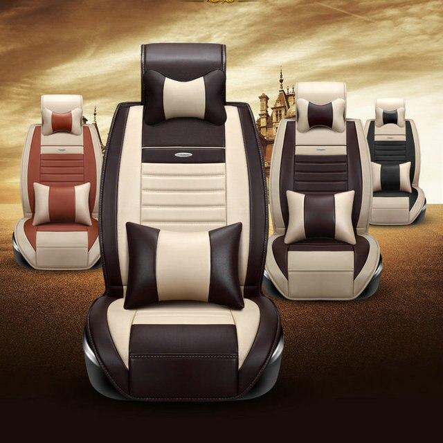 Nueva llegada de lujo del coche cubiertas del asiento del asiento cusion para en General 5 asientos de coche uso