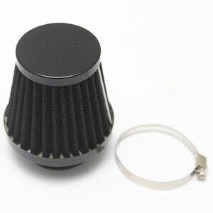 Image 4 - 1 Pcs Cone motorcycle Air Filter Clamp Cleaner 52/53/54mm Carburetor Internal Diameter For Motorcycle ATV Dirt Bike Etc