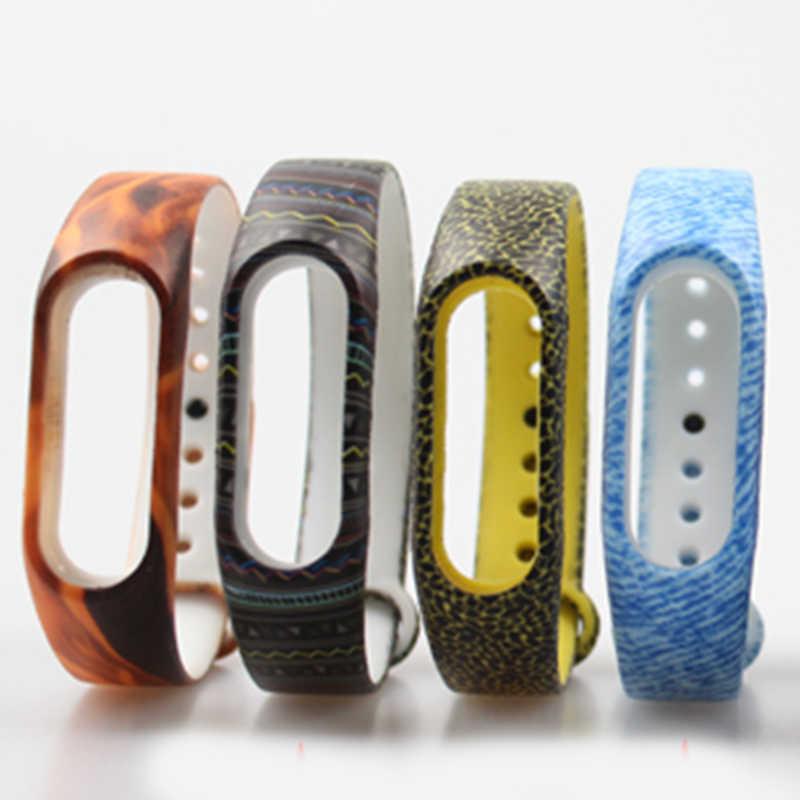 2017 pulsera أسلوب خاص مي سوار سيليكون الفرقة 2 حزام miband استبدال مربط الساعة ل xiaomi 2 smartband الأساور