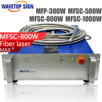 MaxMFSC 500W 800w 1000W Single Mode Continuous Fiber Laser Use For Cutting Stainless Steel Carbon Steel