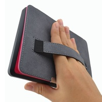 Slim Leather Ebook Case For Kindle Paperwhite 3 2 1 Hand Strap Folding Hard Shell Flip