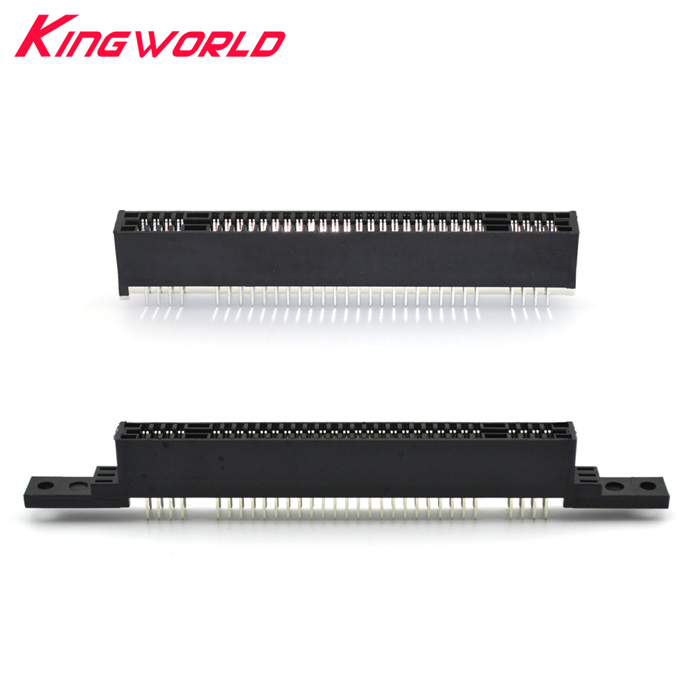 Replacement 2.54mm Interval 62 Pin 62Pins Card Slot for Nintendo Super Famicom for SFC SNES Clone Console