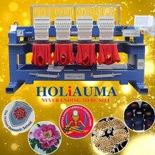 Самый дешевый A18 компьютерная вышивальная машина 400*450 мм 15 игл 4 головки вышивальная машина высокоскоростная промышленная вышивальная машина