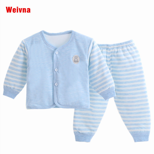 6e6ad9488 2017 New Infant Baby Girl boys Clothing Set Children Cute Cartoon ...