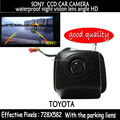 wire SONY CCD HD Car RearView Reverse Backup Color Camera with the parking lines waterproof  for Toyota Prius 06-10 Camry 09 10