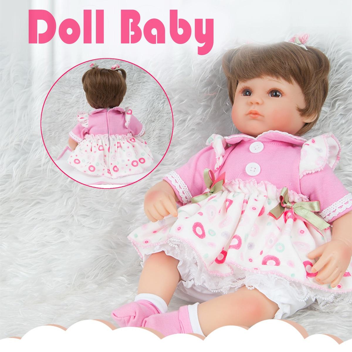22 inch 55cm Handmade Lifelike Vinyl Silicone Reborn Doll Newborn Baby Girl Doll Toy Kids Chirldren's Birthday Christmas Gift christmas birthday holiday gift very cute 22 inch 55cm lifelike silicone bornbaby reborn baby boy girl dolls doll