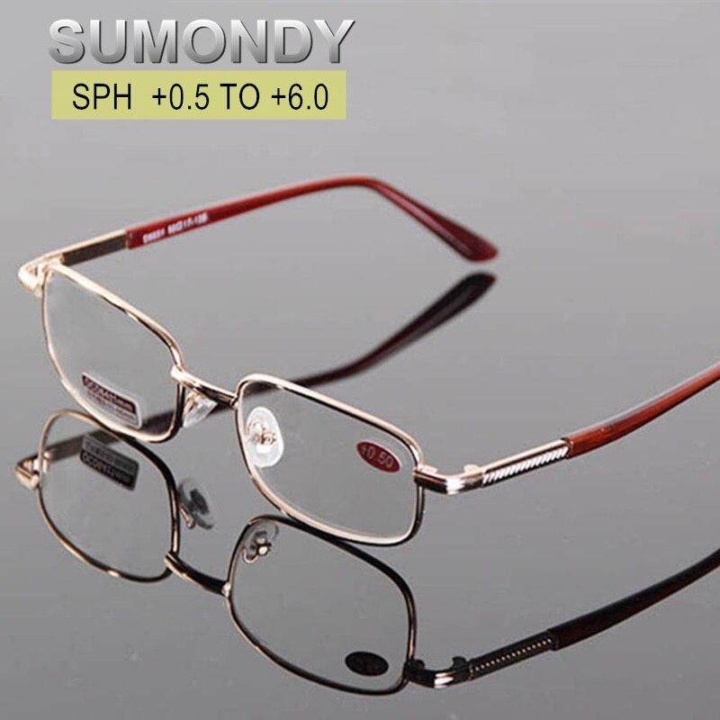 Óculos de leitura Das Mulheres Dos Homens Dioptria + 0.5 0.75 1.0 1.25 1.5 1.75 2.0 2.25 2.5 2.75 3.0 3.25 3.5 3.75 4.0 4.5 5.0 5.5 6.0 Presbiopia