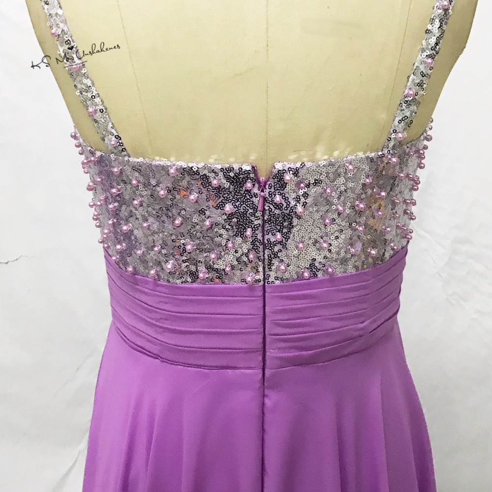 Robe Demoiselle d\'honneur púrpura Vestidos de dama de honor largo ...