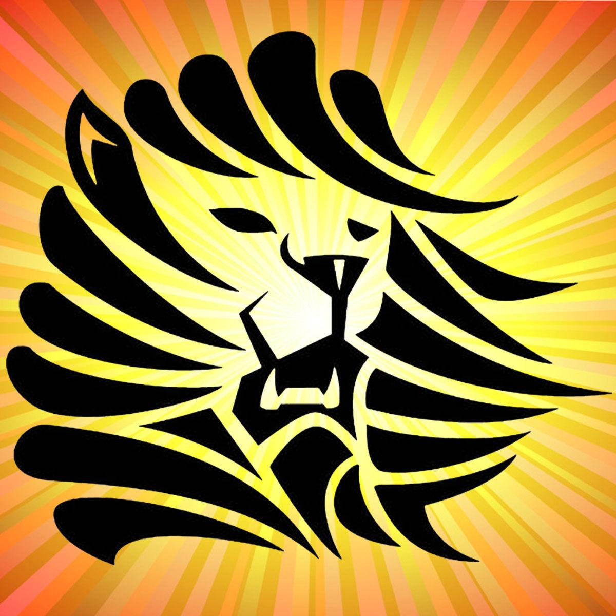 Lion Head King Animal Car Wall Home Glass Window Door Car Sticker ...