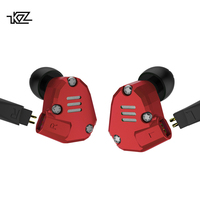 KZ Brand In ear Earphone Headset KZ ZS6 Version Earphones with or no Mic Hearphone All Compatible for Apple IPhone For Xiaomi