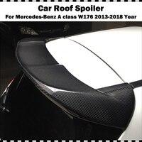 W176 Piecha Style Carbon fiber Car Rear Roof Wing spoiler For Mercedes Benz A Class W176 A180 A200 A220 A250 A45 AMG 2013 2018
