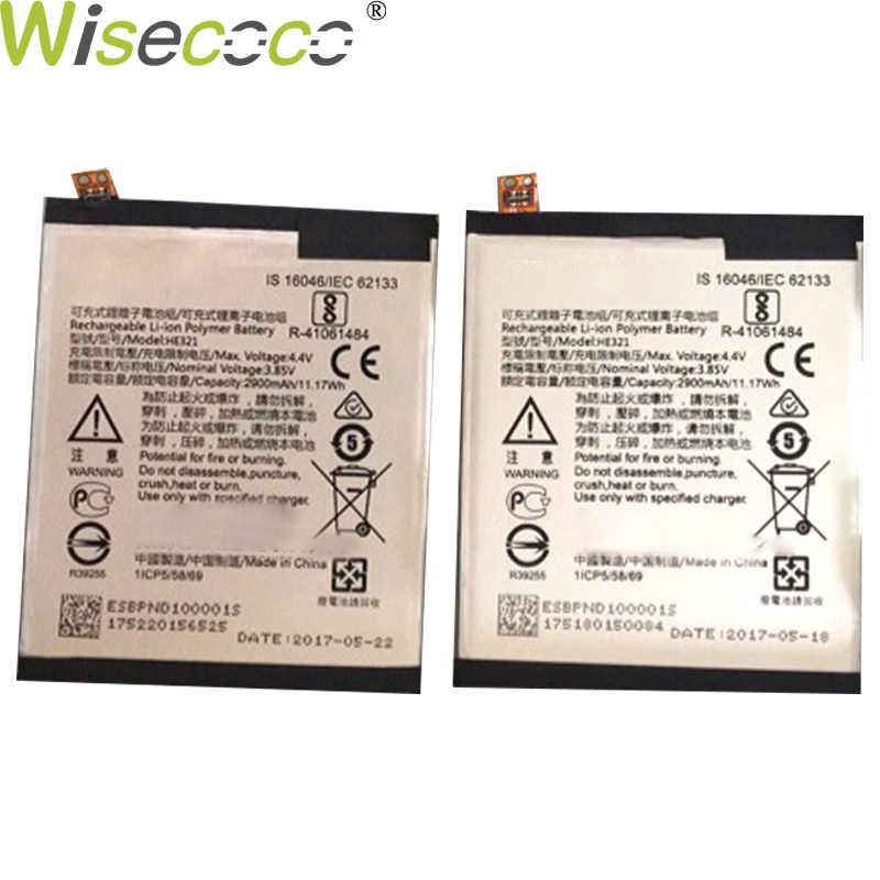 WISECOCO 2 piezas nueva 2900mAh batería HE336 HE321 para Nokia 5 Dual SIM (TA-1053 DS) reemplazo de teléfono en Stock con número de seguimiento