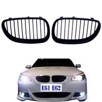 Mat Siyah BMW E60 E61 5 Serisi M5 Ön Tampon Izgara Izgara Radyatör Izgara 525i 528i 530i 535i 550i 2003 2010|grill for bmw|front grillblack kidney -
