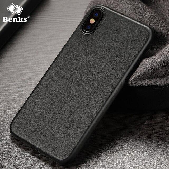 half off a1c4c 89f9a US $6.11 |for iPhone X Benks Smart Phone Case Magic Lollipop Super Slim  Matte Cases for Apple iPhone X Cover Smartphone Fundas Funda Coque-in ...