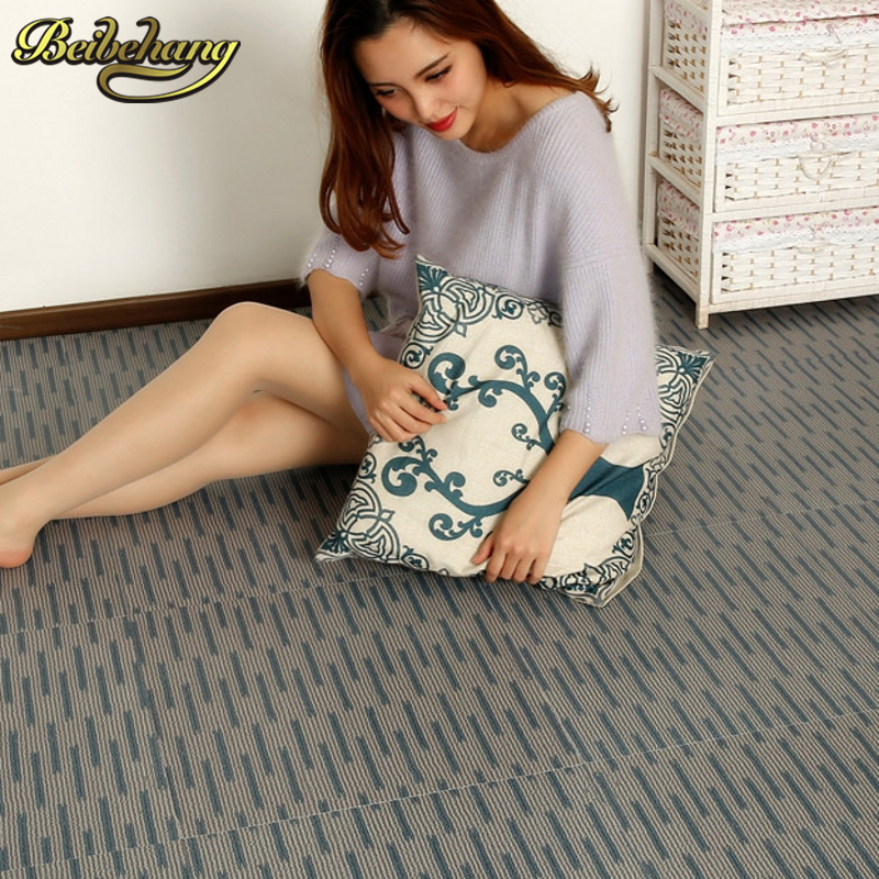 beibehang PVC self adhesive plastic floor plastic sticker affixe environmental sheet plastic 3d floor tiles wallpaper wall paper beibehang 2017 new environmental