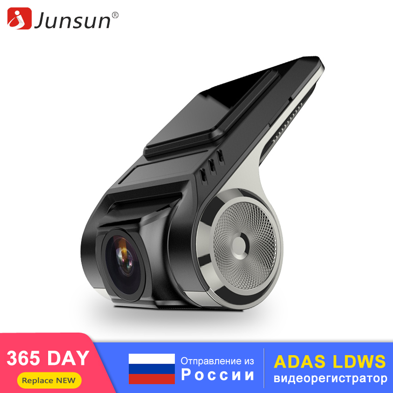 Junsun Cam-Camera Multimedia-Player Dvrs Auto-Recorder ADAS Android Dash Full-Hd Car