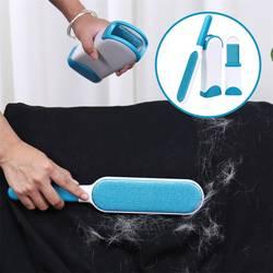 Прямая поставка, щетка для удаления волос для домашних животных, щетка для удаления шерсти и ворса с самоочищающейся основой