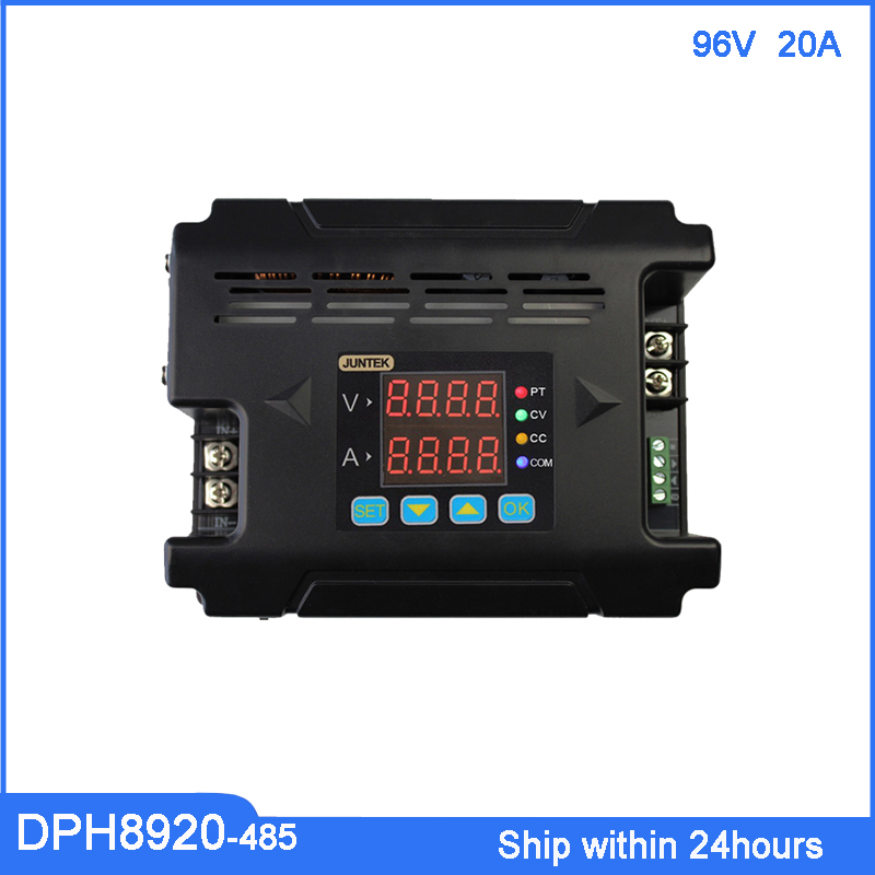 DPH8920-485 96V 20A Digital Constant Voltage Current DC-DC Step-down Power Supply Buck Converter with RS485 Communicaton