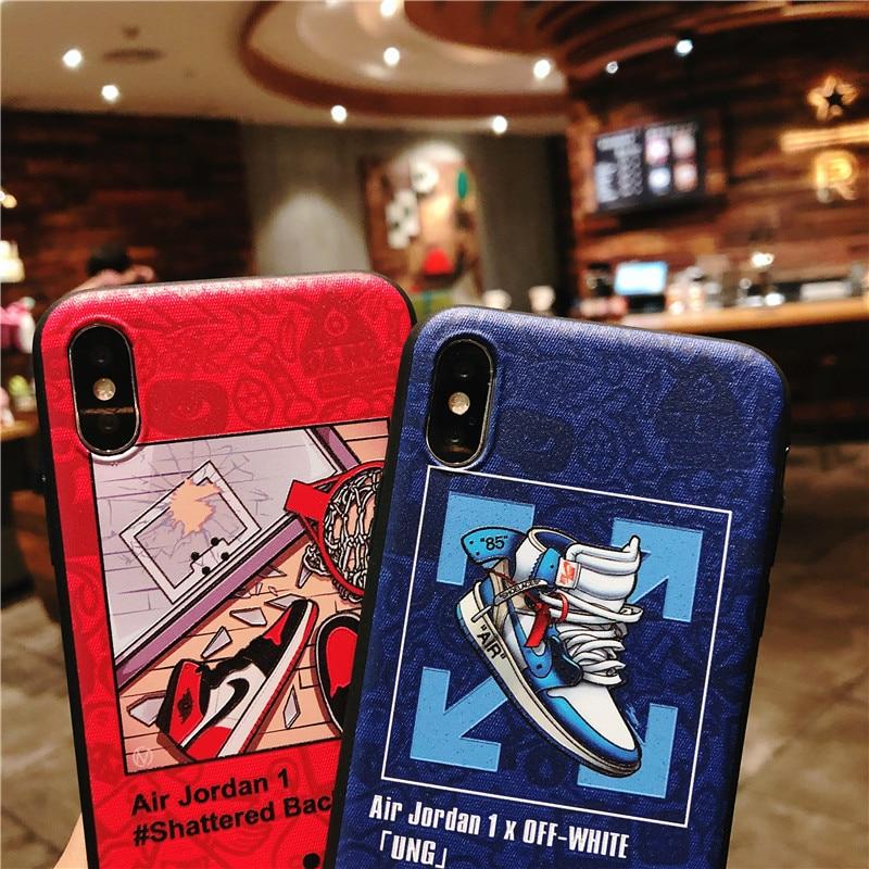 KEFO Ultra Thin Michael Jordan TPU Soft Case For Iphone X 10 5S SE 6 6S 7 8 Plus Fashion Sport NBA Star Flyman Jordan Back Cover (7)