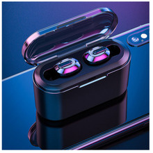 T2 Wireless Bluetooth Headset  HD Stereo Sport Earphone Noise Cancelling Gaming Earbuds With Mic For IPhone Samsung Ew*