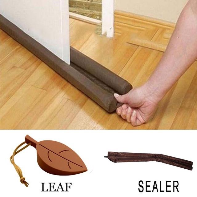 Guard Wind Dust Blocker Sealer Stopper Insulator Door Window Brown Interior  Or Exterior Doors And Windows