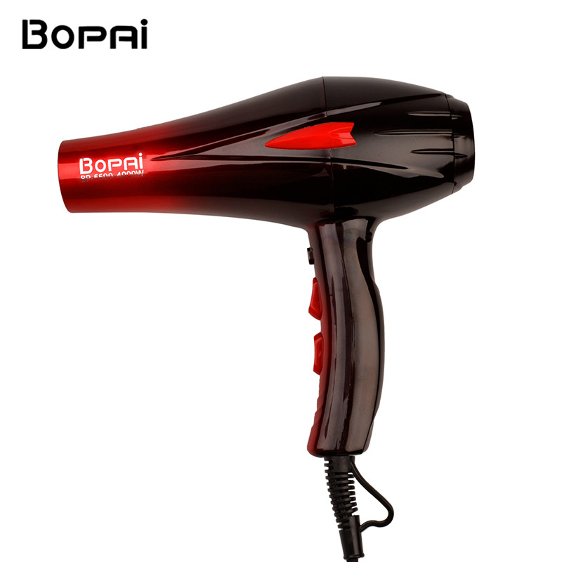 4000W Professional Home Use Hair Dryer Blow Wind Blower with Concentrator Diffuser Cover Hairdressing Styling Salon Curly 42 silicone universal hair dryer diffuser blower hairdressing salon curly hair dryer folding diffuser cover 5u0207