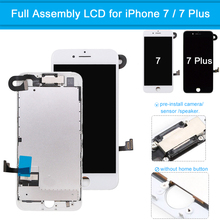 LCD Display for iPhone 7 Plus Touch Screen Display Digitizer Full Assembly Screen Replacement Complete for iPhone 7 7 Plus free dhl 3pcs alibaba china original 5 5 inch for iphone 7 plus lcd complete screen display with touch digitizer assembly