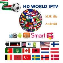 1 год США португальское IPTV подписка с + Европа испанско-португальский Live tv и VOD каналы для Android tv Box smart tv