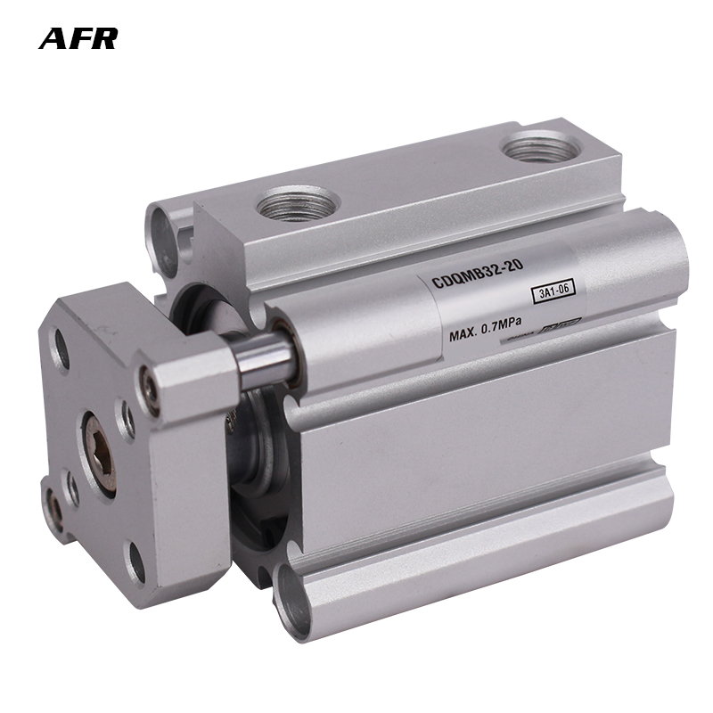 Compact cylinder guide rod type bore 50mm CQMB50 5 CQMB50 10 CQMB50 15 CQMB50 20 CQMB50 25 Pneumatic Thin Air Cylinder in Pneumatic Parts from Home Improvement