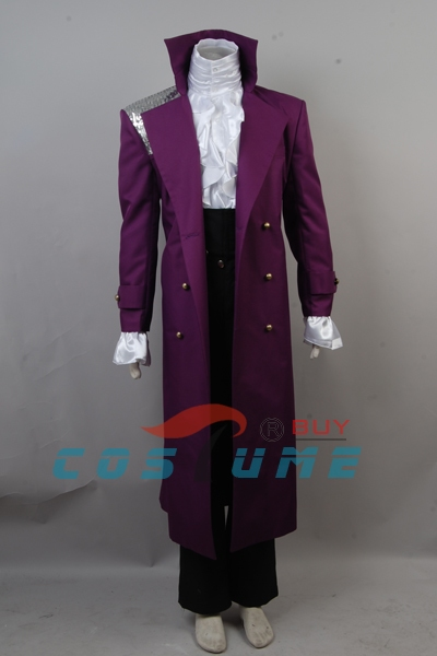 Prince Purple Rain Cosplay Costume Whole Set Halloween Set 2