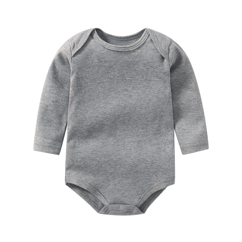 Baby Romper in My Defense 100/% Cotton Long Sleeve Infant Bodysuit