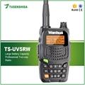 Nova Chegada 5 W Walkie Talkie Dual Band 136-174/400-480 MHZ Rádio Portátil Handheld Radioamador TS-UV5RW portátil walkie talkie