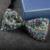 Nuevo Envío Libre de la moda masculina de Los Hombres Padrinos de boda del novio de diamante completo presidió las sesiones oficiales matrimonio pajarita super flash A LA VENTA
