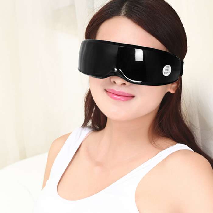 Chargeable eye massager vibration massage Myopia prevention Eye protection instrument eye vision health eliminate eye fatigue 2pcs jia kang s three generation eye instrument eye massager eye eye massager extended edition of the new