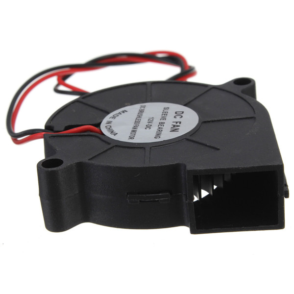Venta Caliente útil Electrónica 3D Impresora 12 V DC 50mm Golpe Ventilador Radia