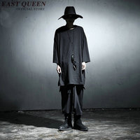 Extra long tee shirts for men extra long mens t shirts man extra long t shirt hip hop clothing KK1068 Y
