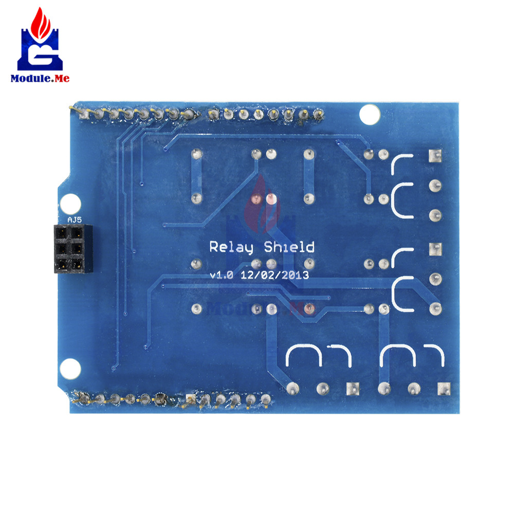 Relay Shield Interface 5V 4 Four Channel Module For Arduino Signal Control Power Expansion Drive Board DC 3.3v 5v Red  Indicator 10