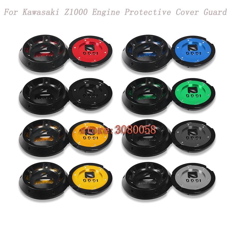 цена на For Kawasaki Z1000 Z1000SX Ninja 1000 2011-2016 Engine Protective Cover Guard Motorcycle CNC Aluminum Alloy