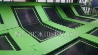 Exported to Isreal Amazing Indoor Gymnastic Trampoline Park Both for Adults and Children HZ LG042