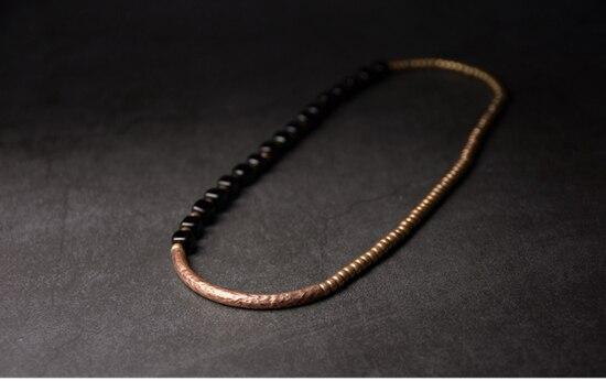 2019-New-Cubic-Black-Obsidian-Multi-row-Bracelet-With-Antique-Finish-Copper-Accessories-Men-Women-Couple-Jewelry-Punk-Street (11)